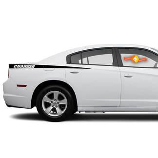 Dodge Charger Decal Sticker Seitengrafiken passen zu den Modellen 2011-2014
