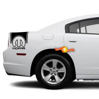 Dodge Charger Achterzijde Band Decal Sticker Mopar Graphics Past op Modellen 2011-2014