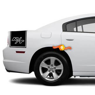 Dodge Charger Rückseite Band Aufkleber Aufkleber R / T Grafik passt zu Modellen 2011-2014