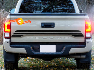 Bed Tailgate TRD Toyota Tacoma Vinyl Decal Sticker