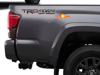 Pair of TRD 4x4 Off Road Sequoia Forest Toyota Tacoma Tundra FJ Cruiser 4runner Any colour