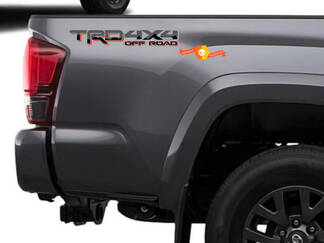 Pair of TRD 4x4 Off Road Mountains Toyota Tacoma Tundra FJ Cruiser 4runner Any colour