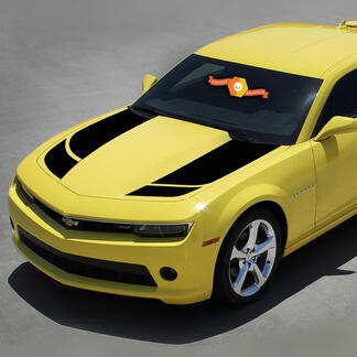 Bumble Bee 2 Racing Rally Stripe Transformer Decals Graphic 2010-2013 Camaro