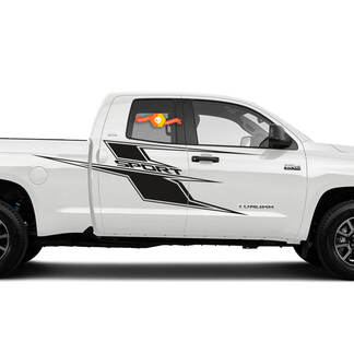 Axis Side Decal Fits 2014 - 2021 Toyota Tundra Vinyl Sticker Graphic Stripe