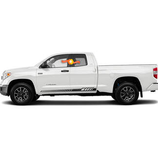 Car Decal Graphic Sticker Side Stripe Kit For Toyota Tundra