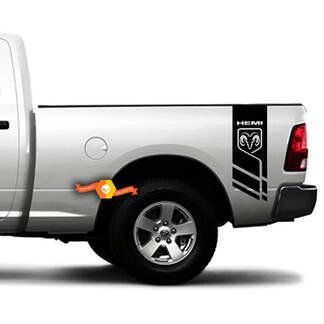 HEMI DODGE LOGO RAM 1500 2500 3500 4X4 Decals Truck Stickers Vinyl Neffen