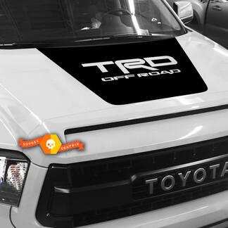 Hood Decal Blackout für einen TRD OFF ROAD 2014 - 2019 Toyota Tundra