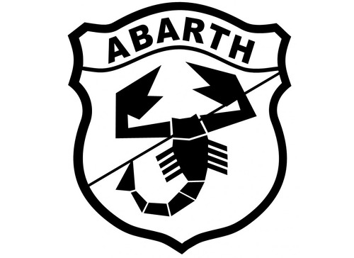 ABARTH 1993 Self adhesive vinyl Sticker Decal