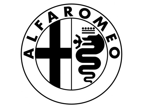 ALFA ROMEO 1995 Self adhesive vinyl Sticker Decal