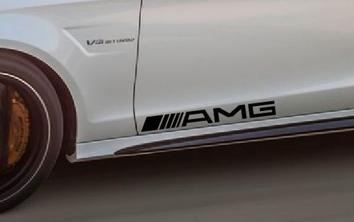 2 Pack AMG Decal Sticker CLS S55 Mercedes Benz Sport