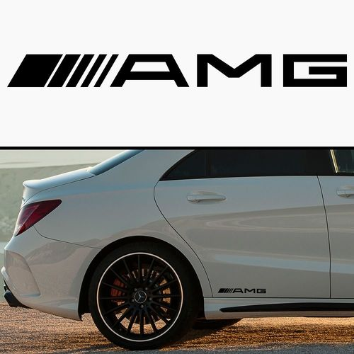 Category amg mercedes benz decals sticker for A mercedes benz product sticker