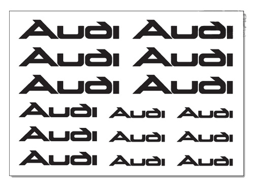 AUDI Brake Caliper Decals Stickers TT A3 A4 A5 A6 Q5 S-line Quat