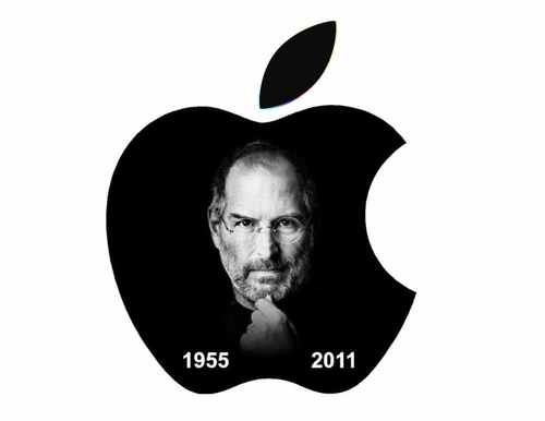 Apple Steve Jobs Memorial Decal Sticker Full Color Self Adhesive