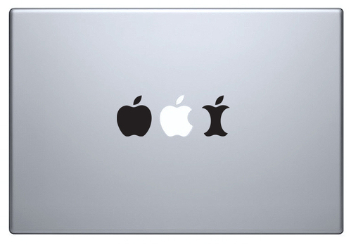 Apple Evolution sticker macbook decal