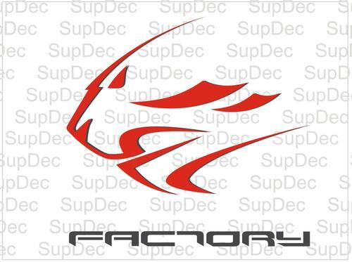 Aprilia Factory lion decals stickers