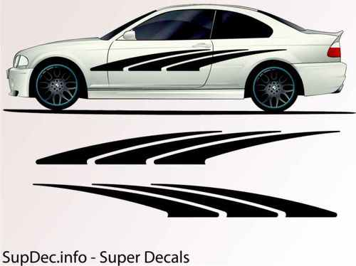 Vinyl Auto Body Graphics EXTERIOR OUTSIDE Decal sticker B108