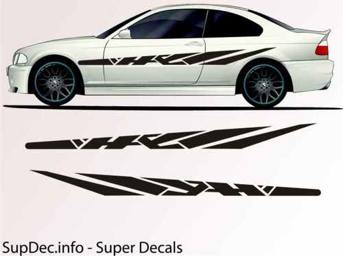 Vinyl Auto Body Graphics EXTERIOR OUTSIDE Decal sticker B703