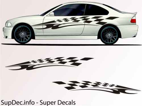 Vinyl Auto Body Graphics EXTERIOR OUTSIDE Decal sticker B707