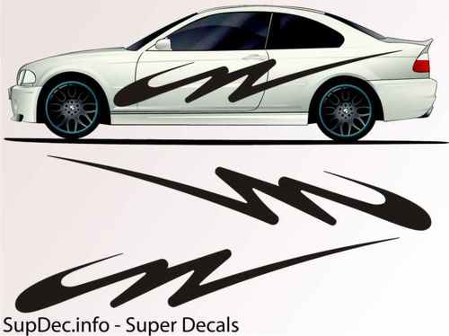 Vinyl Auto Body Graphics EXTERIOR OUTSIDE Decal sticker B710