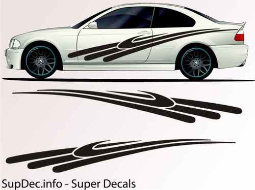 Vinyl Auto Body Graphics EXTERIOR OUTSIDE Decal sticker B712