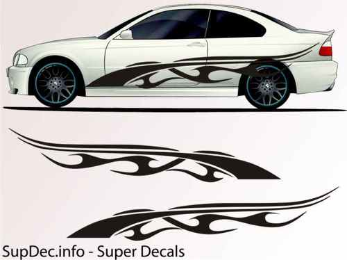 Vinyl Auto Body Graphics EXTERIOR OUTSIDE Decal sticker B721