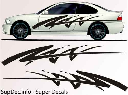 Vinyl Auto Body Graphics EXTERIOR OUTSIDE Decal sticker B731
