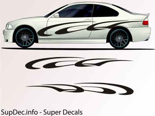 Vinyl Auto Body Graphics EXTERIOR OUTSIDE Decal sticker B736