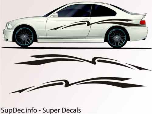 Vinyl Auto Body Graphics EXTERIOR OUTSIDE Decal sticker B741