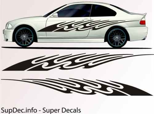 Vinyl Auto Body Graphics EXTERIOR OUTSIDE Decal sticker B742