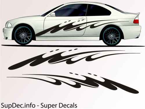 Vinyl Auto Body Graphics EXTERIOR OUTSIDE Decal sticker B745