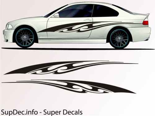 Vinyl Auto Body Graphics EXTERIOR OUTSIDE Decal sticker B746