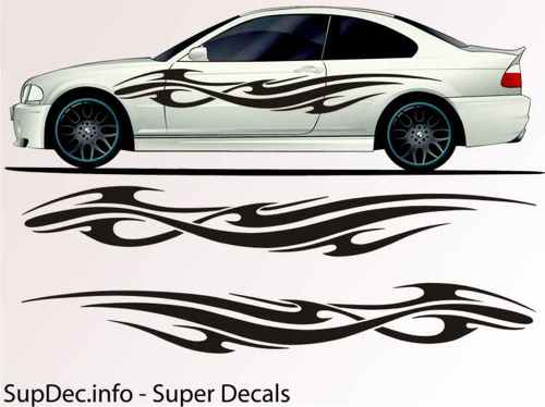 Vinyl Auto Body Graphics EXTERIOR OUTSIDE Decal sticker B749