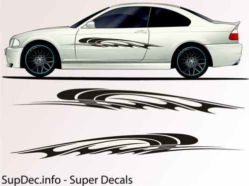 Vinyl Auto Body Graphics EXTERIOR OUTSIDE Decal sticker B751