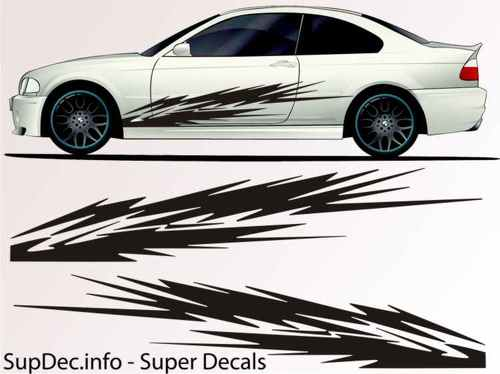 Vinyl Auto Body Graphics EXTERIOR OUTSIDE Decal sticker B755
