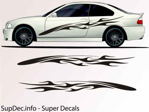 Vinyl Auto Body Graphics EXTERIOR OUTSIDE Decal sticker B762