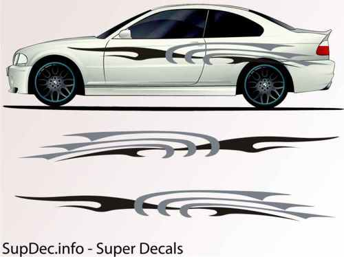 Vinyl Auto Body Graphics EXTERIOR OUTSIDE Decal sticker B766