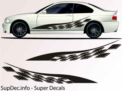 Vinyl Auto Body Graphics EXTERIOR OUTSIDE Decal sticker B768