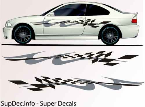 Vinyl Auto Body Graphics EXTERIOR OUTSIDE Decal sticker B776