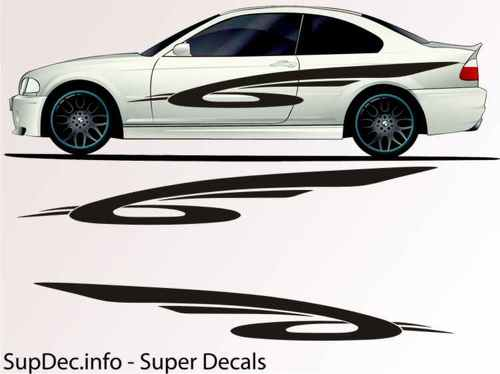Vinyl Auto Body Graphics EXTERIOR OUTSIDE Decal sticker B783