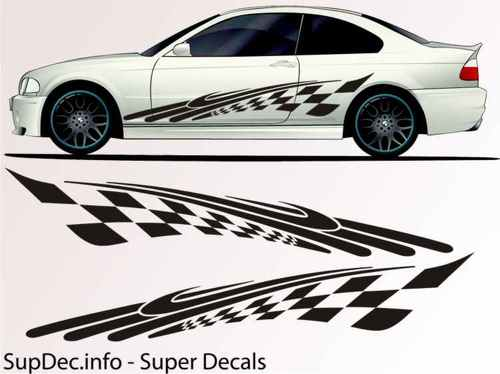 Vinyl Auto Body Graphics EXTERIOR OUTSIDE Decal sticker B788