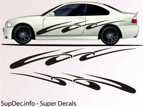 Vinyl Auto Body Graphics EXTERIOR OUTSIDE Decal sticker B789
