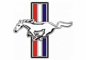 Ford Mustang Classic Logo Sticker Decal