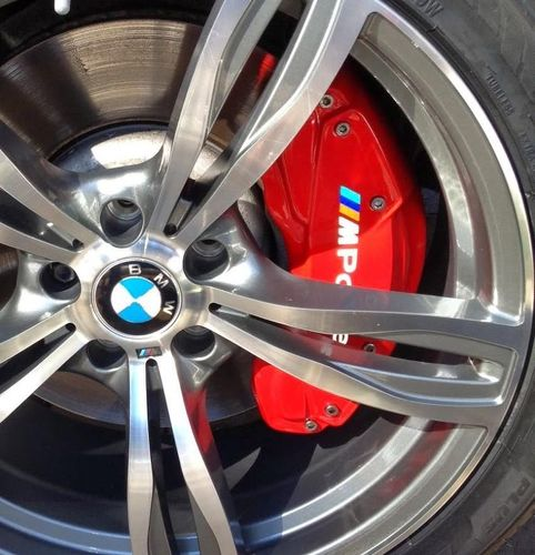 BMW M Power Brake Caliper 2 size M colors X8 heat resistant decal sticker logo 2 size