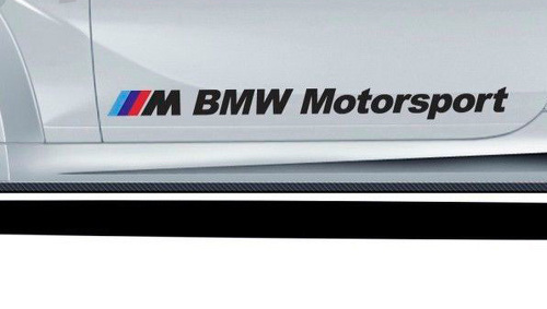BMW M Motorsport Auto Aufkleber Vinyl Aufkleber 48 Zoll M3 M5 M6 E90 E3