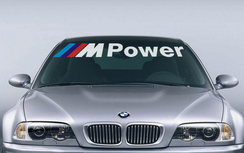 BMW M Power M3 M5 M6 E36 E39 E46 E63 E90 Decal Sticker