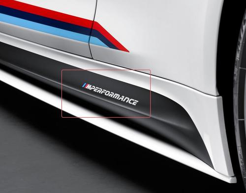 BMW m performance new SIDE vinyl decals stickers