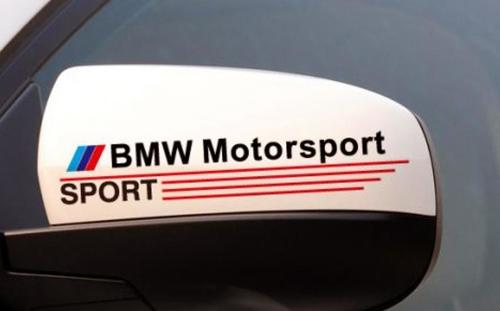 BMW Motorsport sport decal sticker