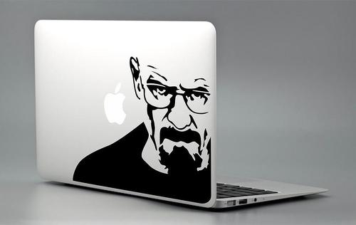Breaking Bad - Macbook Sticker Decal Laptop Pro Air Birthday Gift Mac Heisenberg