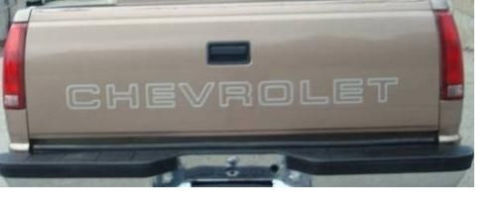 Chevrolet for STEPSIDE BED Tailgate Decal / Sticker Chevy#2