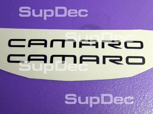 Camaro Rad 2 Aufkleber